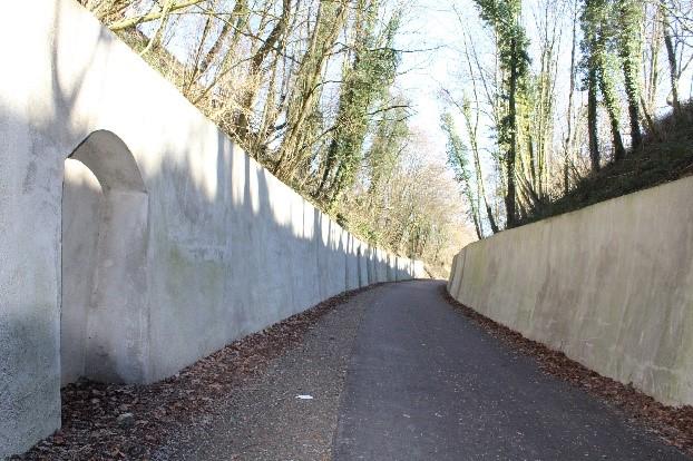Hombourg; oude tunnel van Laschet